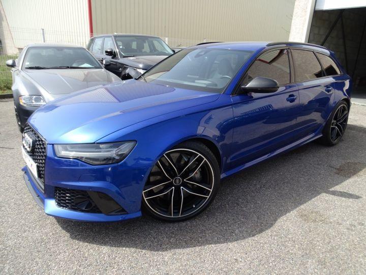 Audi RS6 AVANT 4.0L TFSI Tipt 560Ps /Pack Carbone int et ext Echap Sport .... bleu sepang - 2