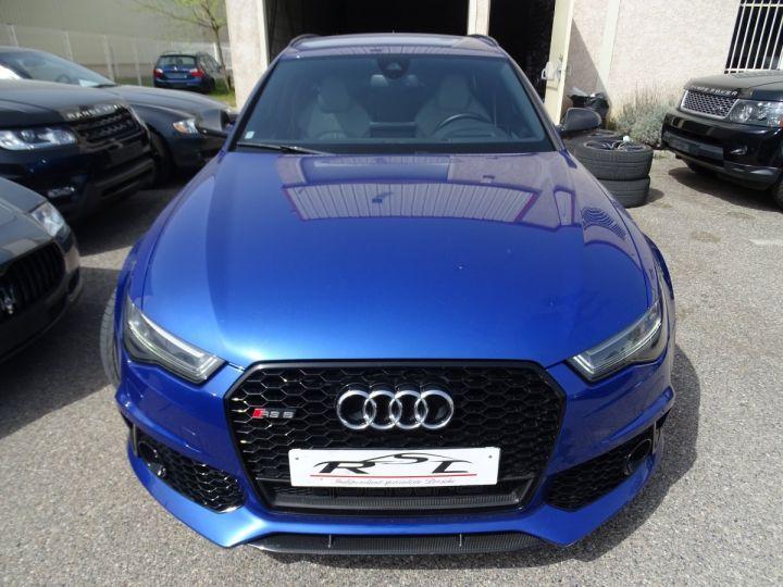 Audi RS6 AVANT 4.0L TFSI Tipt 560Ps /Pack Carbone int et ext Echap Sport .... bleu sepang - 3