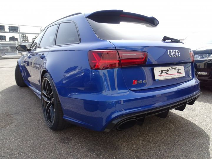 Audi RS6 AVANT 4.0L TFSI Tipt 560Ps /Pack Carbone int et ext Echap Sport .... bleu sepang - 6