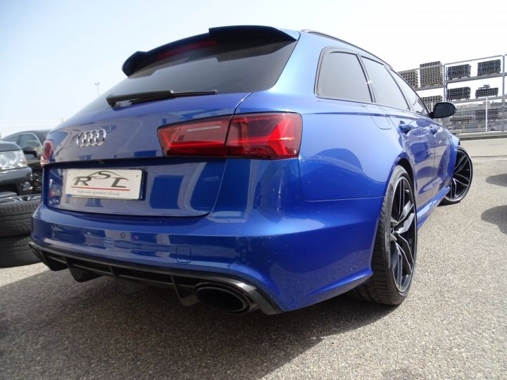 Audi RS6 AVANT 4.0L TFSI Tipt 560Ps /Pack Carbone int et ext Echap Sport .... bleu sepang - 8