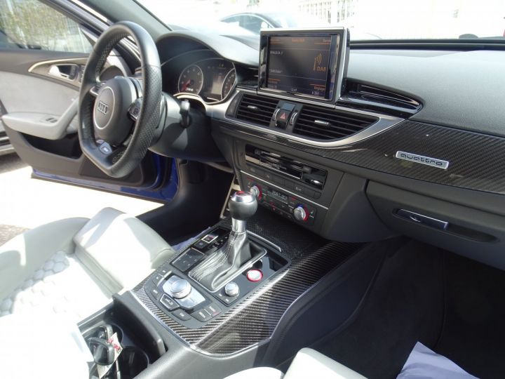 Audi RS6 AVANT 4.0L TFSI Tipt 560Ps /Pack Carbone int et ext Echap Sport .... bleu sepang - 10