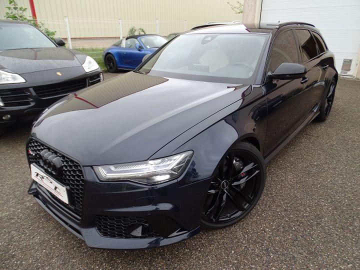 Audi RS6 AVANT 4.0L TFSI Tipt 560Ps /Pack EXCLUSIF +Carbone int LED Matrix  Echap Sport .... bleu  - 2