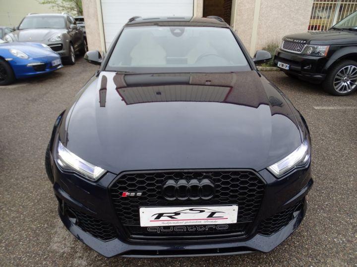 Audi RS6 AVANT 4.0L TFSI Tipt 560Ps /Pack EXCLUSIF +Carbone int LED Matrix  Echap Sport .... bleu  - 3