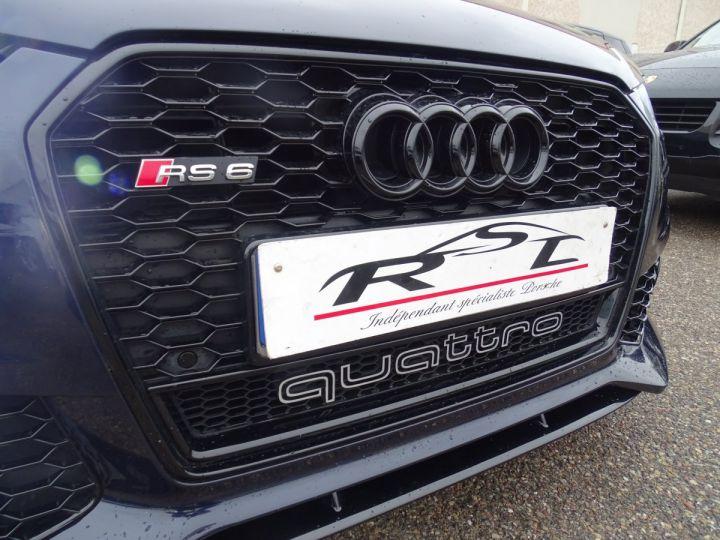 Audi RS6 AVANT 4.0L TFSI Tipt 560Ps /Pack EXCLUSIF +Carbone int LED Matrix  Echap Sport .... bleu  - 4