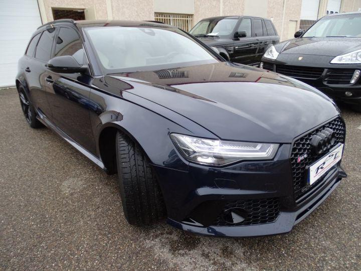 Audi RS6 AVANT 4.0L TFSI Tipt 560Ps /Pack EXCLUSIF +Carbone int LED Matrix  Echap Sport .... bleu  - 5
