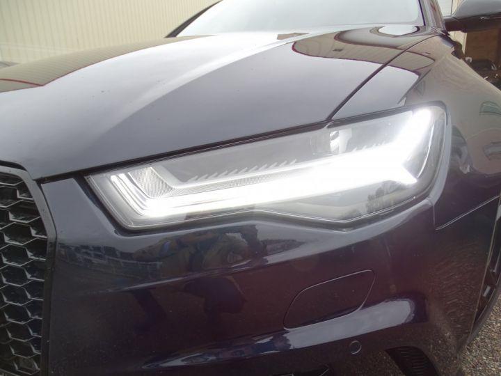 Audi RS6 AVANT 4.0L TFSI Tipt 560Ps /Pack EXCLUSIF +Carbone int LED Matrix  Echap Sport .... bleu  - 6