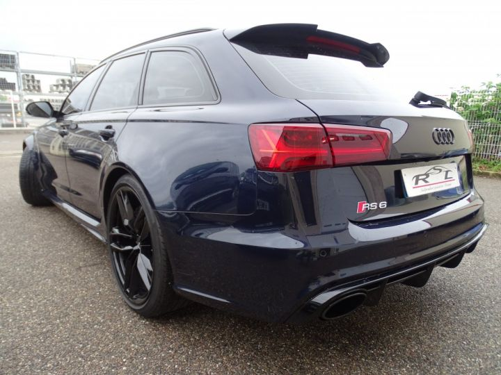 Audi RS6 AVANT 4.0L TFSI Tipt 560Ps /Pack EXCLUSIF +Carbone int LED Matrix  Echap Sport .... bleu  - 7