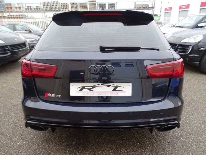 Audi RS6 AVANT 4.0L TFSI Tipt 560Ps /Pack EXCLUSIF +Carbone int LED Matrix  Echap Sport .... bleu  - 8