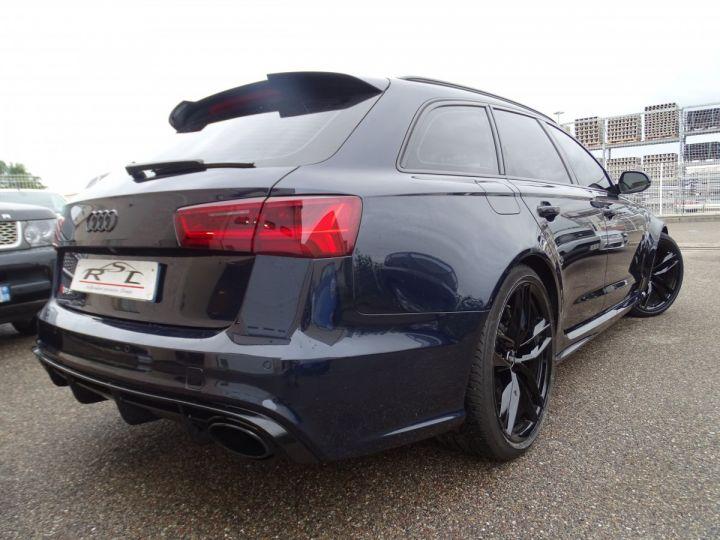 Audi RS6 AVANT 4.0L TFSI Tipt 560Ps /Pack EXCLUSIF +Carbone int LED Matrix  Echap Sport .... bleu  - 9