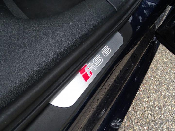 Audi RS6 AVANT 4.0L TFSI Tipt 560Ps /Pack EXCLUSIF +Carbone int LED Matrix  Echap Sport .... bleu  - 15