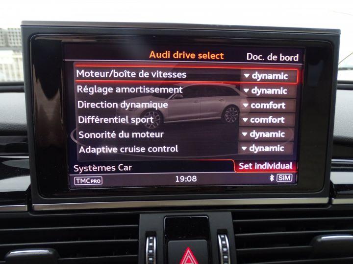 Audi RS6 AVANT 4.0L TFSI Tipt 560Ps /Pack EXCLUSIF +Carbone int LED Matrix  Echap Sport .... bleu  - 16