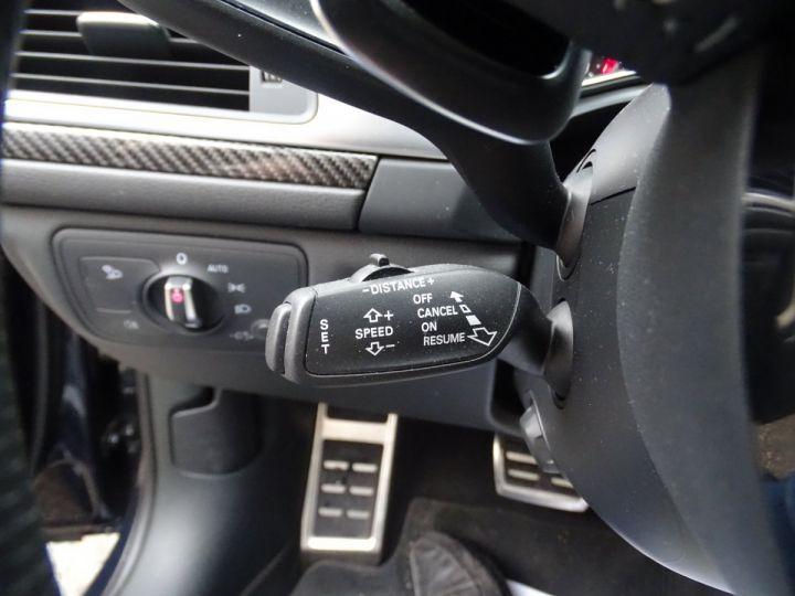 Audi RS6 AVANT 4.0L TFSI Tipt 560Ps /Pack EXCLUSIF +Carbone int LED Matrix  Echap Sport .... bleu  - 21