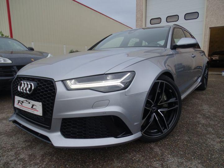 Audi RS6 AVANT 4.0L TFSI Tipt 560Ps /Toe Pano Céramique  Echap Sport TVAC .... argent met - 1