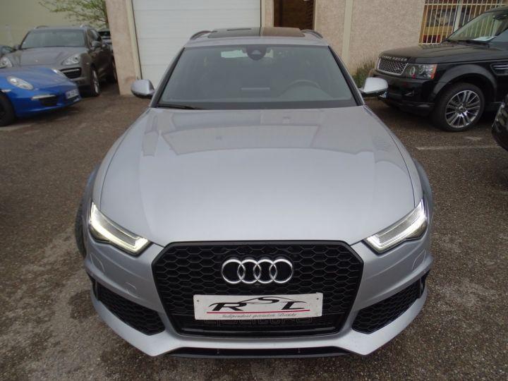 Audi RS6 AVANT 4.0L TFSI Tipt 560Ps /Toe Pano Céramique  Echap Sport TVAC .... argent met - 3