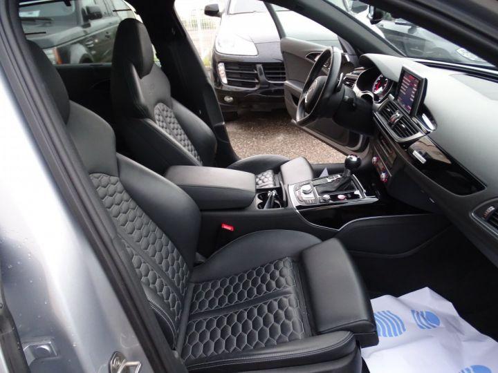Audi RS6 AVANT 4.0L TFSI Tipt 560Ps /Toe Pano Céramique  Echap Sport TVAC .... argent met - 13