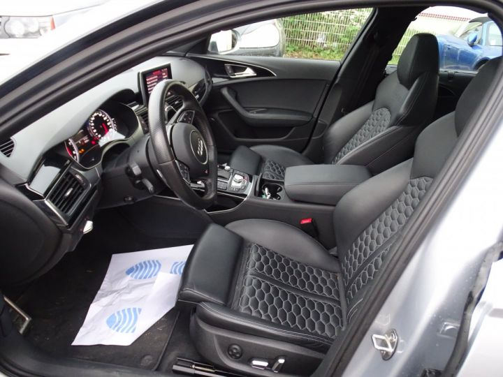 Audi RS6 AVANT 4.0L TFSI Tipt 560Ps /Toe Pano Céramique  Echap Sport TVAC .... argent met - 15