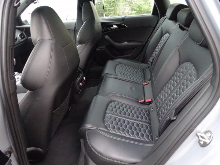 Audi RS6 AVANT 4.0L TFSI Tipt 560Ps /Toe Pano Céramique  Echap Sport TVAC .... argent met - 17