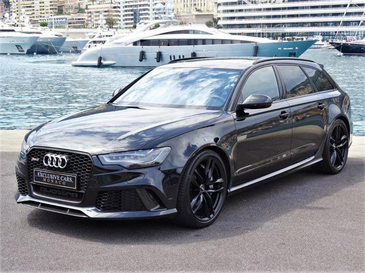 Audi RS6 AVANT QUATTRO 560 CV Noir Metal - 1