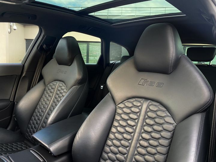 Audi RS6 AVANT QUATTRO 560 CV Noir Metal - 7