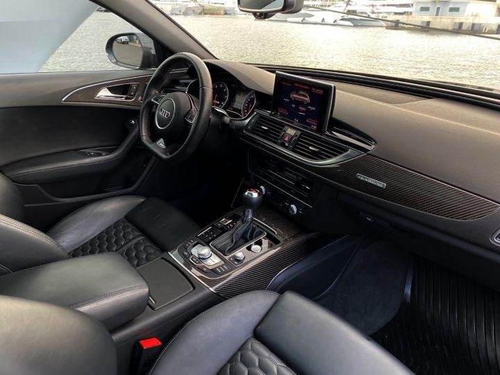 Audi RS6 AVANT QUATTRO 560 CV Noir Metal - 12