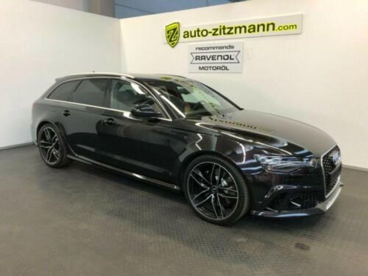 Audi RS6 Avant V8 4.0 TFSI 560 Quattro Tiptronic 8 / Garantie 12 mois Noir métallisée  - 1