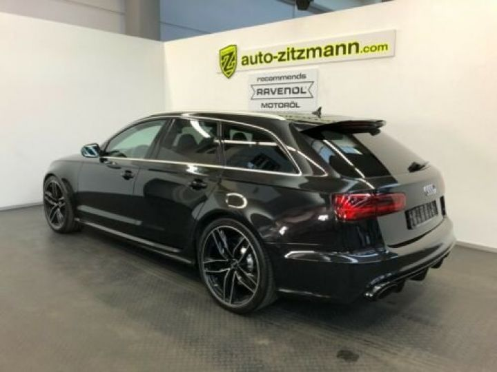 Audi RS6 Avant V8 4.0 TFSI 560 Quattro Tiptronic 8 / Garantie 12 mois Noir métallisée  - 3