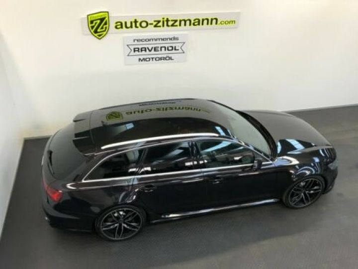 Audi RS6 Avant V8 4.0 TFSI 560 Quattro Tiptronic 8 / Garantie 12 mois Noir métallisée  - 4