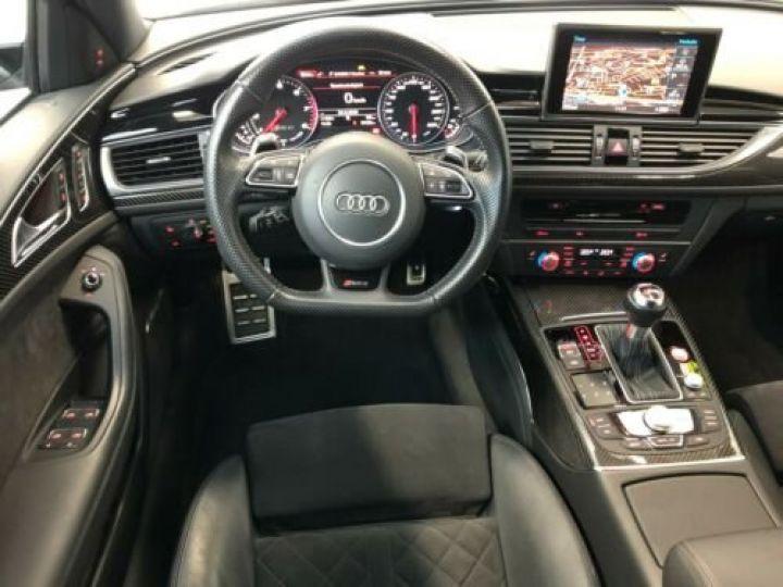 Audi RS6 Avant V8 4.0 TFSI 560 Quattro Tiptronic 8 / Garantie 12 mois Noir métallisée  - 9