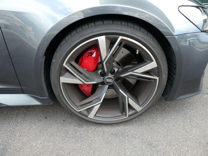 Audi RS6 IV 4.0 TFSI 600 QUATTRO TIPTRONIC 8 Gris Daytona Vendu - 14