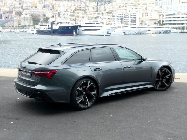 Audi RS6 IV 4.0 TFSI 600 QUATTRO TIPTRONIC 8 Gris Daytona Vendu - 13