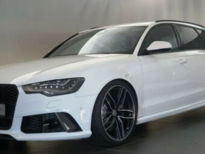 Audi RS6 Pack Carbon Blanc Ibisweiß - 1