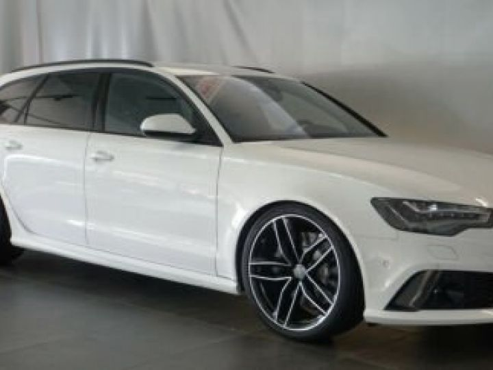 Audi RS6 Pack Carbon Blanc Ibisweiß - 7