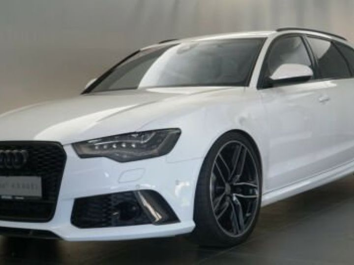 Audi RS6 Pack Carbon Blanc Ibisweiß - 11
