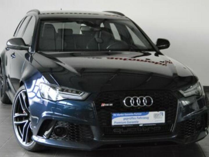 Audi RS6 Pack Dynamic Carbon Bleu Island Métallic  - 1