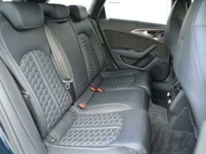 Audi RS6 Pack Dynamic Carbon Bleu Island Métallic  - 11