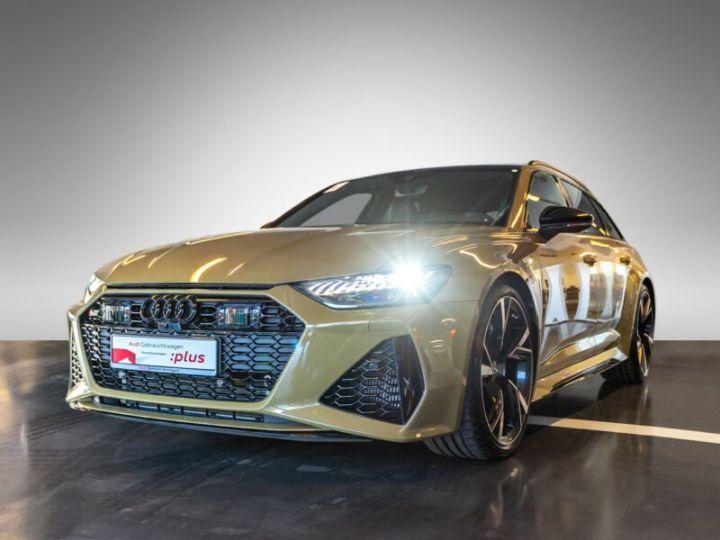 Audi RS6 SLINE vert tactique - 1