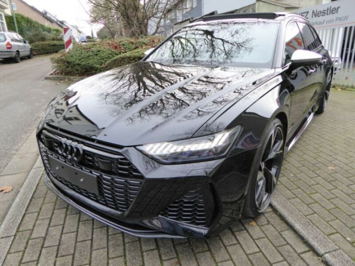 Audi RS6 SLINE cuir noir  - 1