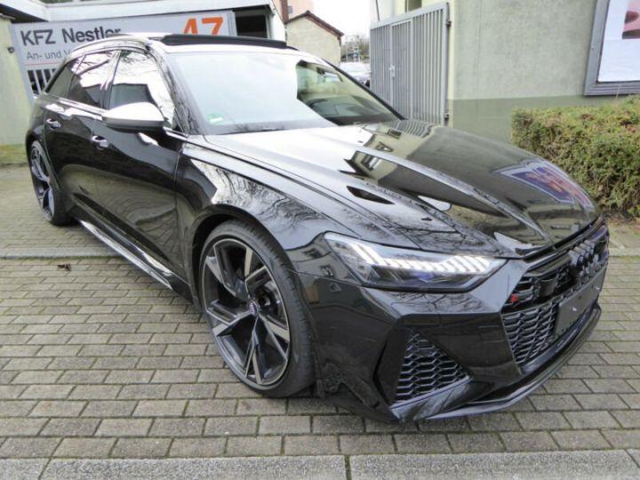 Audi RS6 SLINE cuir noir  - 2