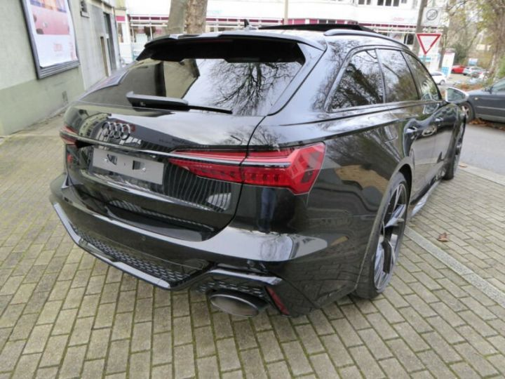 Audi RS6 SLINE cuir noir  - 5