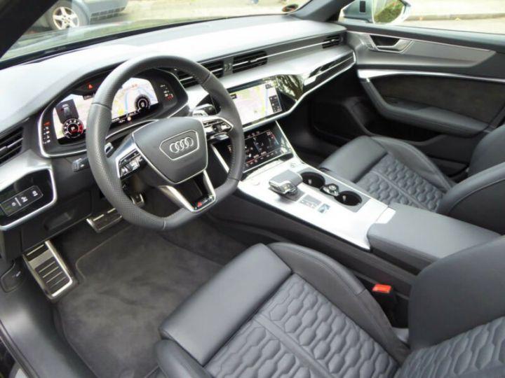 Audi RS6 SLINE cuir noir  - 8