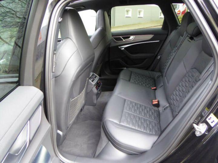 Audi RS6 SLINE cuir noir  - 10
