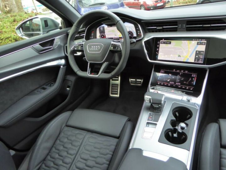 Audi RS6 SLINE cuir noir  - 11