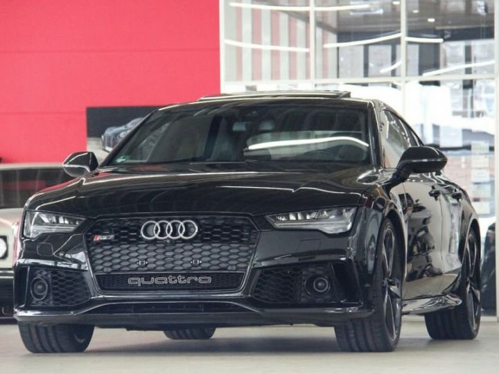 Audi RS7 Noir métallisée  - 1