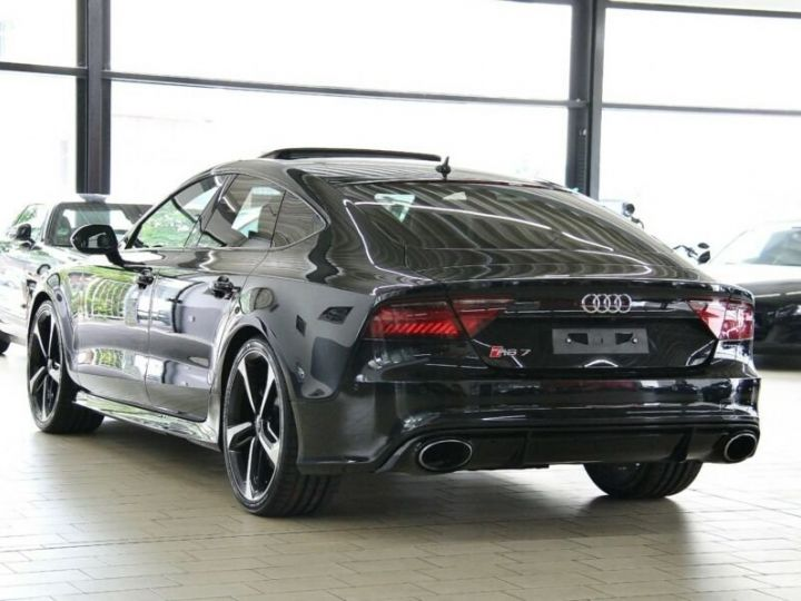 Audi RS7 Noir métallisée  - 4