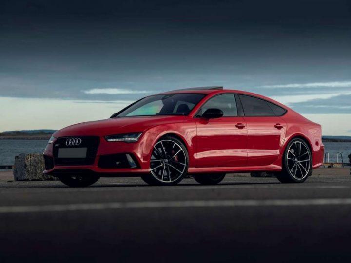 Audi RS7 Performance # Inclus CG, Malus écolo et Livraison à domicile # Rouge  - 1