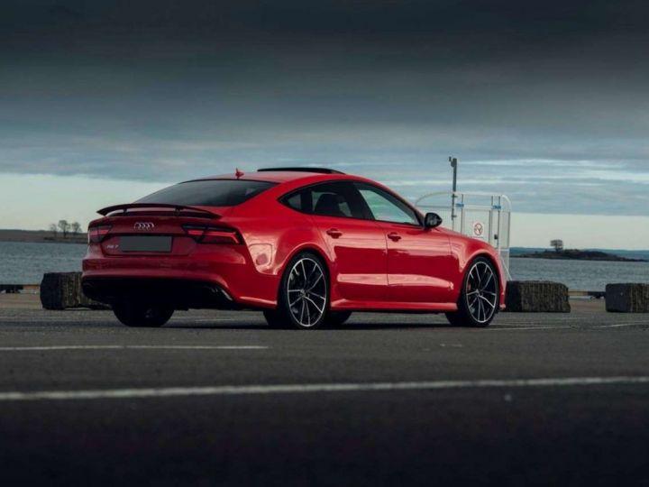 Audi RS7 Performance # Inclus CG, Malus écolo et Livraison à domicile # Rouge  - 2