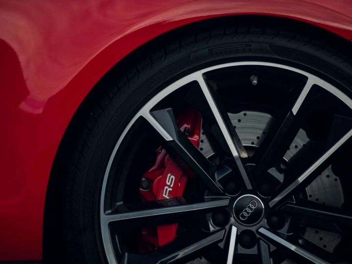 Audi RS7 Performance # Inclus CG, Malus écolo et Livraison à domicile # Rouge  - 5