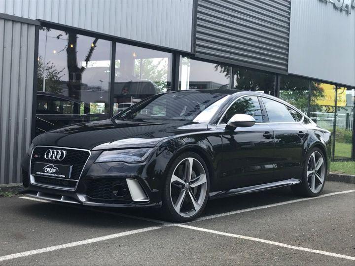 Audi RS7 SPORTBACK 4.0 TFSI 560 QUATTRO TIPTRONIC noir métal - 1