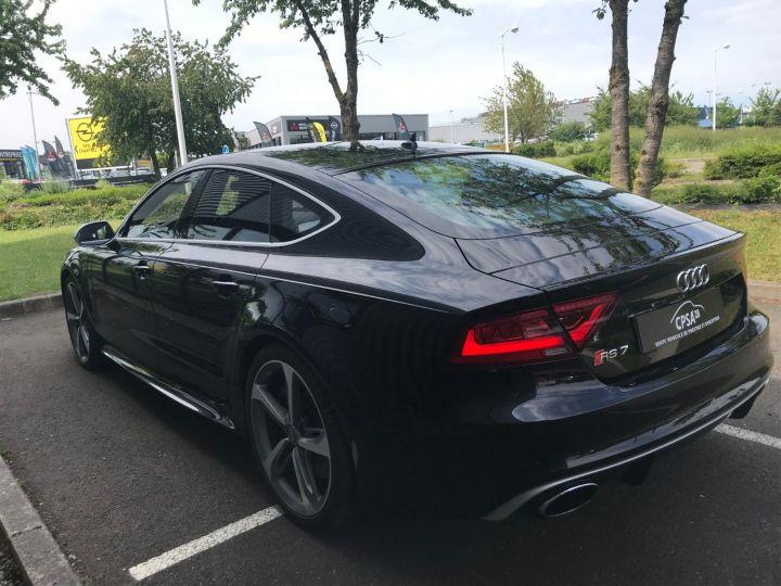 Audi RS7 SPORTBACK 4.0 TFSI 560 QUATTRO TIPTRONIC noir métal - 8