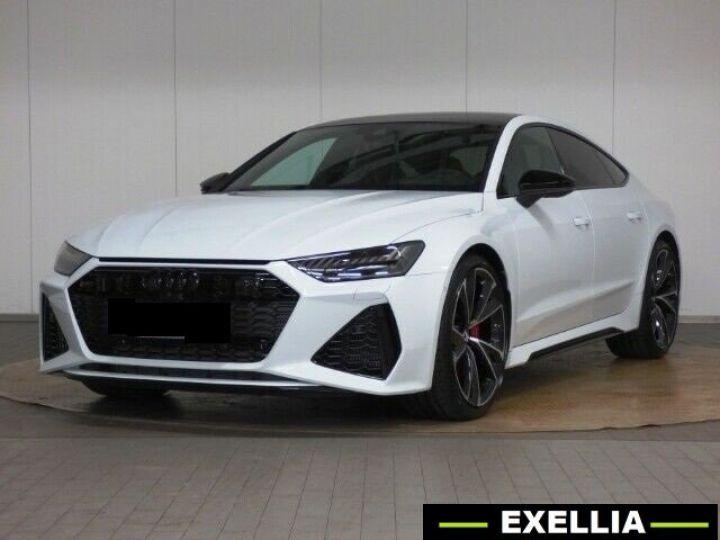 Audi RS7 SPORTBACK 4.0 TFSI QUATTRO BLANC PEINTURE METALISE  Occasion - 1